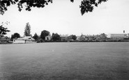 Chard, The Cricket Field c.1960