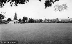 The Cricket Field c.1960, Chard