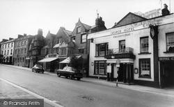 The George Hotel c.1960, Chard