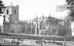 Chard, The Parish Church c.1955