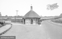 Chard, The Toll House c.1955