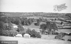 Chard, View From Yarcombe Hill c.1950
