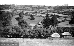 View From Yarcombe Hill c.1955, Chard