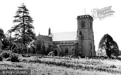 St Andrew's Church c.1960, Chardstock