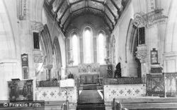St Andrew's Church, Interior c.1960, Chardstock