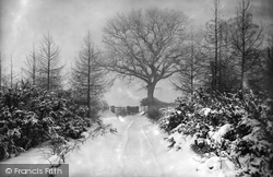 Charfield, Snow Scene 1900