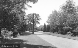 Charing, Crematorium Drive c.1955