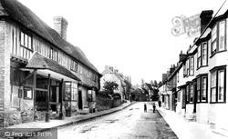 Charing, High Street 1901