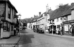 Charing, High Street c.1955