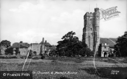 Charing, St Peter's Church And Palace Ruins c.1955