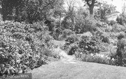 Charing, The Crematorium, Garden Of Remembrance c.1955
