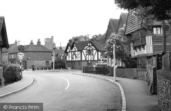 Charing, The Old House And Cross Roads c.1955