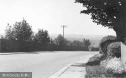 Charing, View From The Hill c.1955