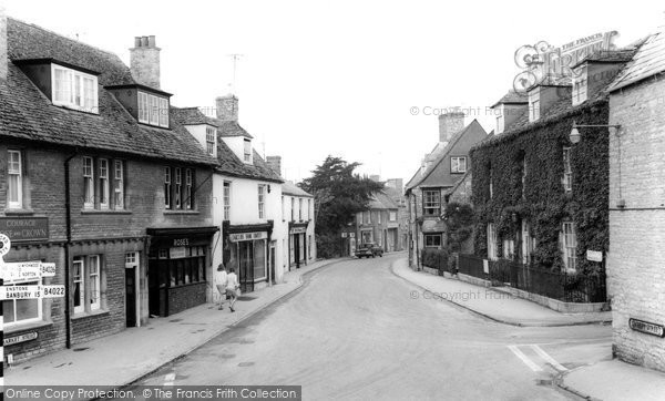 Photo of Charlbury, Market Street c.1965