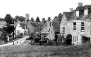Charlbury, view from Grammar School Hill c1950