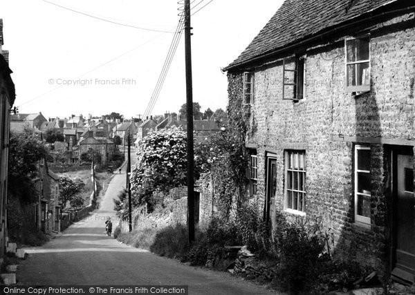 Photo of Charlbury, View From Hixet Wood c.1955
