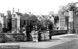 Charlecote, Charlecote Park, From Upper Gardens c.1884