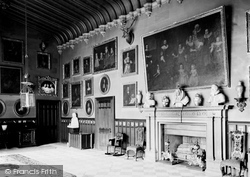 Charlecote, Charlecote Park, The Great Hall c.1890