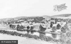 Charlestown Of Aberlour, From Wester Elchies c.1946