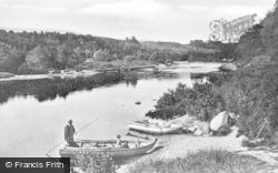 Charlestown Of Aberlour, River Spey, The Old Ferry c.1900