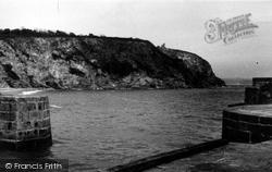 Pier End And Cliffs c.1960, Charlestown