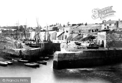The Harbour c.1885, Charlestown