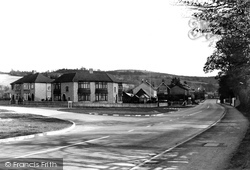 Charlton Kings, Charlton Hill From Cirencester Road c.1950