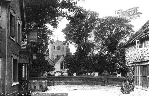Charlwood, Church 1890