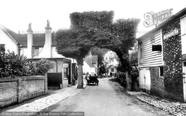 Charlwood, the Street 1924
