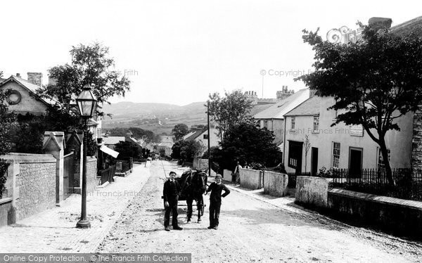 Photo of Charmouth, 1890