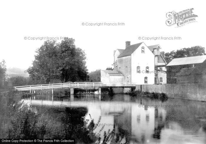 Chartham,Mill on the River Stour 1903,Kent