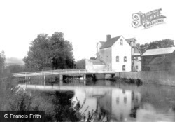 Chartham, Mill On The River Stour 1903