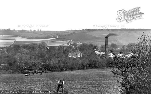 Chartham,Paper Mills & Hatch 1906,Kent