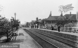 Chartham, Railway Station 1906