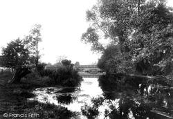 Chartham, River Stour 1903