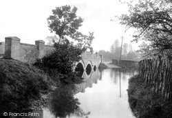 Chartham, Shalmsford Bridge 1903