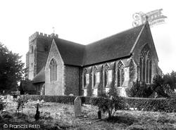 Chartham, St Mary's Church 1903