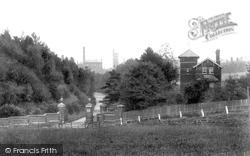 Chartham, The Asylum Entrance 1903