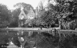 Chartham, The Grange 1908