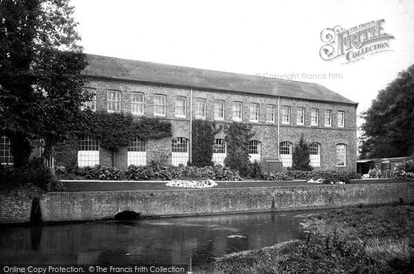 Chartham,the Paper Mill 1903,Kent