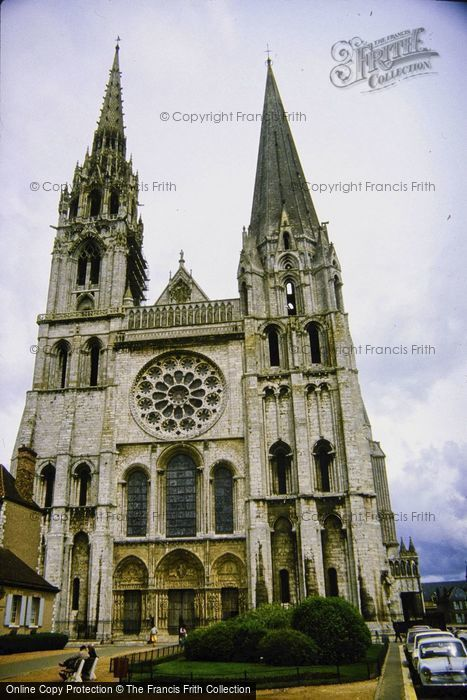 Photo of Chartres, The Cathedral c.1984
