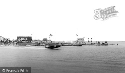 Chasewater, Power Boats c.1965