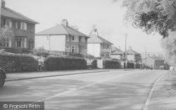 Clitheroe Road c.1960, Chatburn