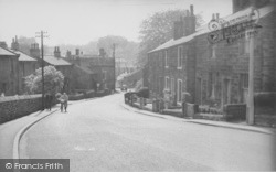Chatburn, Downham Road c.1960