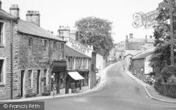 Shops On Bridge Road  c.1955, Chatburn