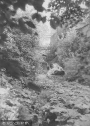 Chatburn, The Waterfall c.1960