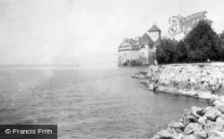 And The Lake c.1935, Chateau De Chillon