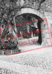 Archway c.1935, Chateau De Chillon