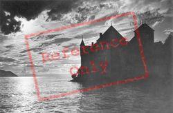 c.1930, Chateau De Chillon