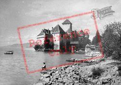c.1935, Chateau De Chillon